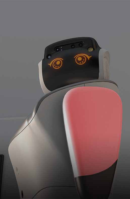 intelligent service robot, commercial service robot, advanced ai robot
