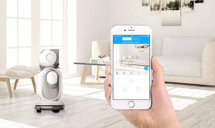 remote control robot, security robot for home, domestic service robot