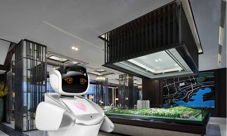 intelligent robot for real estate, real estate robot, AI real estate service