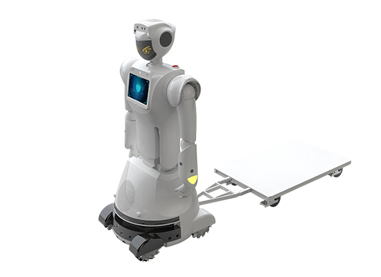 most advanced AI robot, Sanbot Max, AI service robot