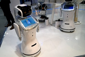 Sanbot robot featured at Gitex Technology for a second time